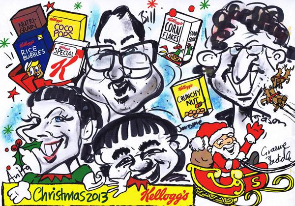 Kelloggs caricature